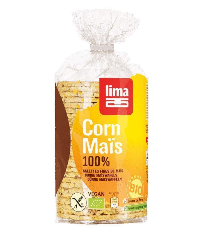 Lima ekološki koruzni vaflji 120g