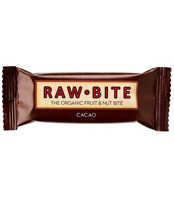 RawBite Presna Energijska Ploščica s Kakavom
