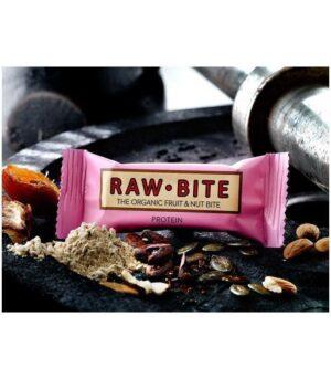 RawBite Veganska Presna Proteinska Ploščica