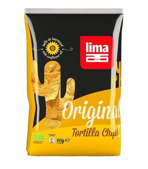 Veganske Lima ekološke tortilje čips