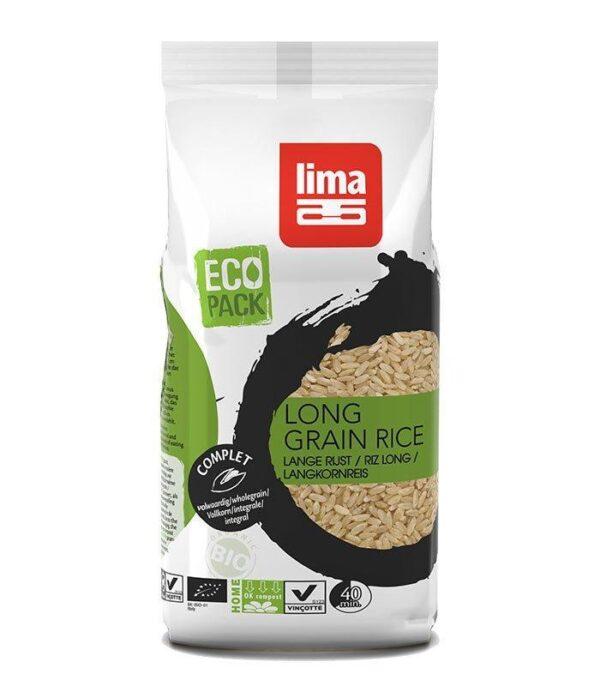 Lima ekološki okroglozrnat rjav riž