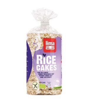 Lima ekološki riževi vaflji brez soli - Vegansko.si