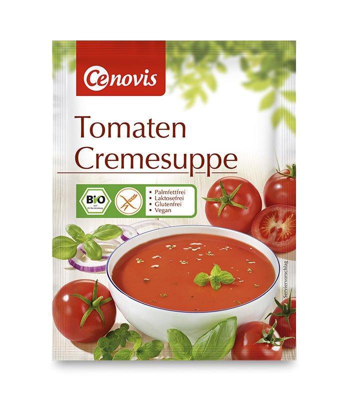 Cenovis bio paradižnikova kremna juha, 63g