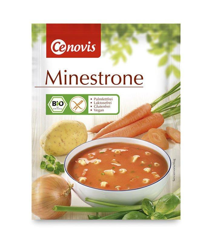 Cenovis veganska kremna juha Minestrone, 50g
