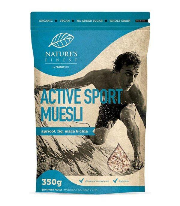 Nutrisslim Bio Active Šport Musli 350g