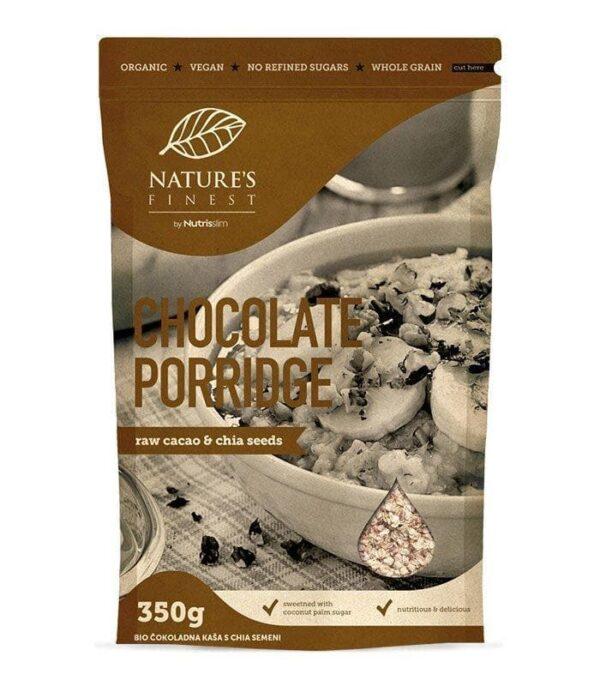 Nutrisslim Bio Čokoladna kaša s chia semeni 350g