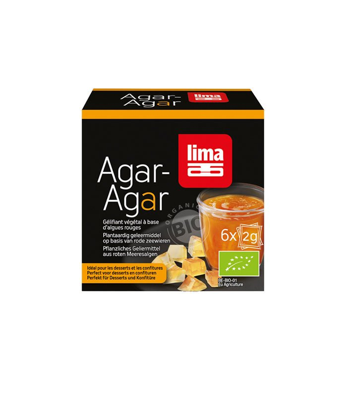 Lima ekološki Agar Agar, 6x2g