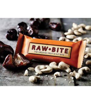 RawBite Presna Energijska Ploščica Indijski Orešček 50g