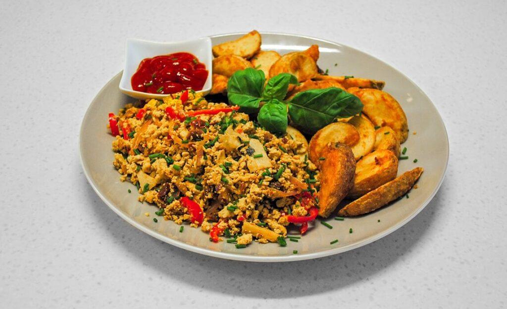 recept za umešan tofu