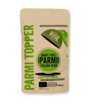 Ekološki veganski parmezan Parmi posip z italijanskimi zelišči