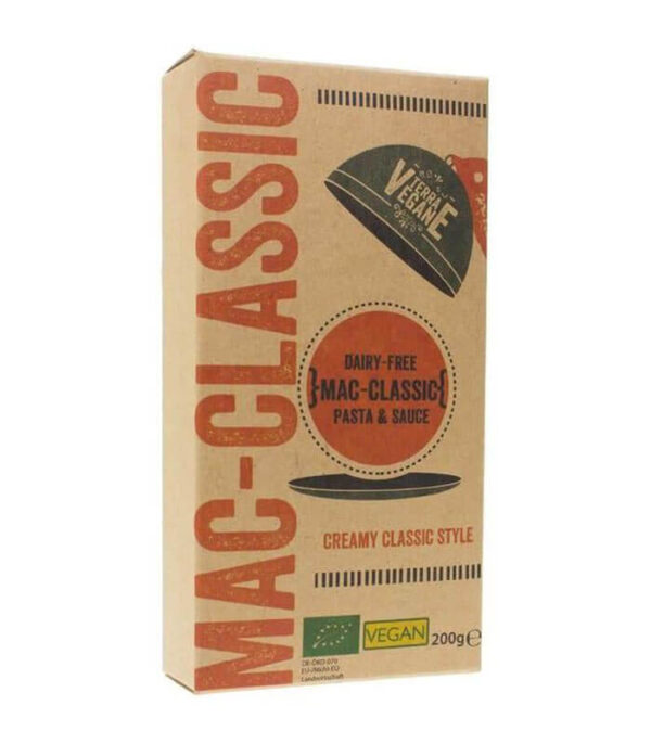 Terra Vegane Bio Mac Classic veganski mac and cheese