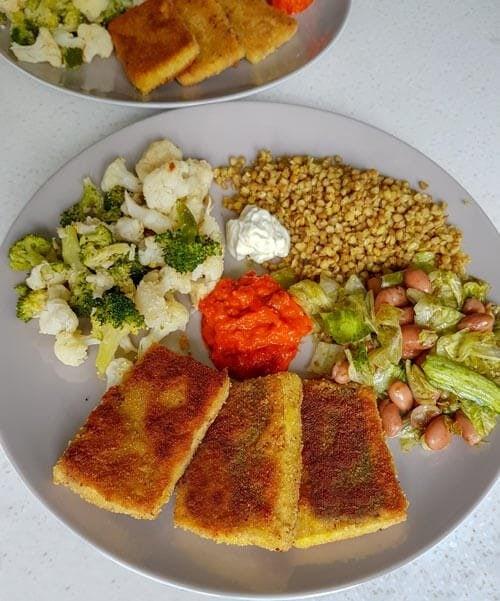 Recept za paniran tofu brez jajc