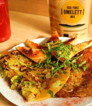 pripravek za vegansko omleto