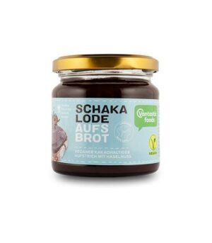 Schakalode aufs Brot veganskičokoladno lešnikov namaz