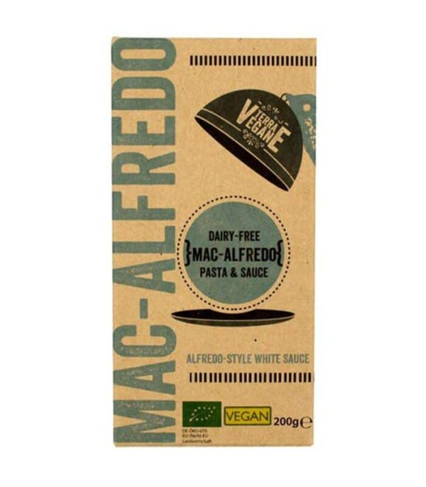 Terra Vegane Bio Mac Alfredo veganski mac and cheese