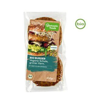 Veganski Bio Burger z zeleno piro, 200g