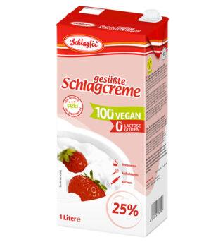 Schlagfix Veganska sladka smetana za stepanje