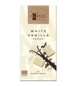 Bio iChoc bela čokolada vanilija