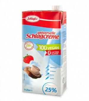 Schlagfix univerzalna veganska krema za stepanje brez sladkorja