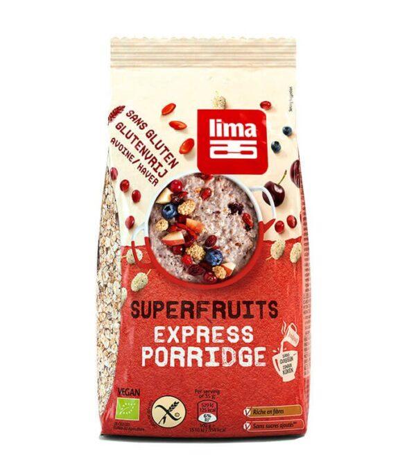 Lima bio ovsena kaša super sadje