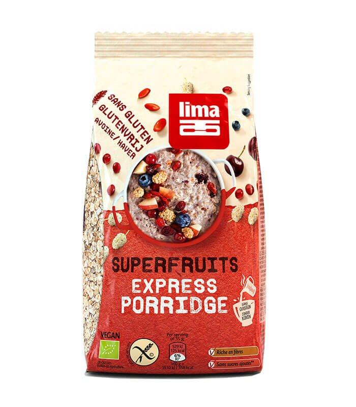Lima bio ovsena kaša super sadje, 350g