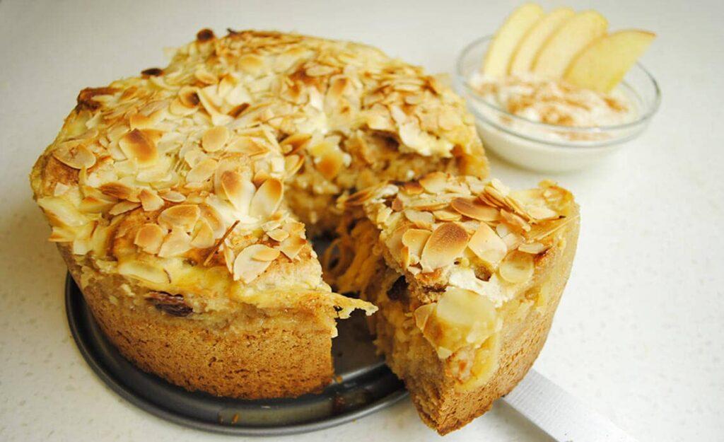 Recept za vegansko jabolčno pito