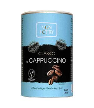 Veganski kapučino brez kofeina in z manj sladkorja VGN FCTRY
