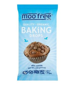 Bio Moo Free veganske čokoladne kapljice za peko