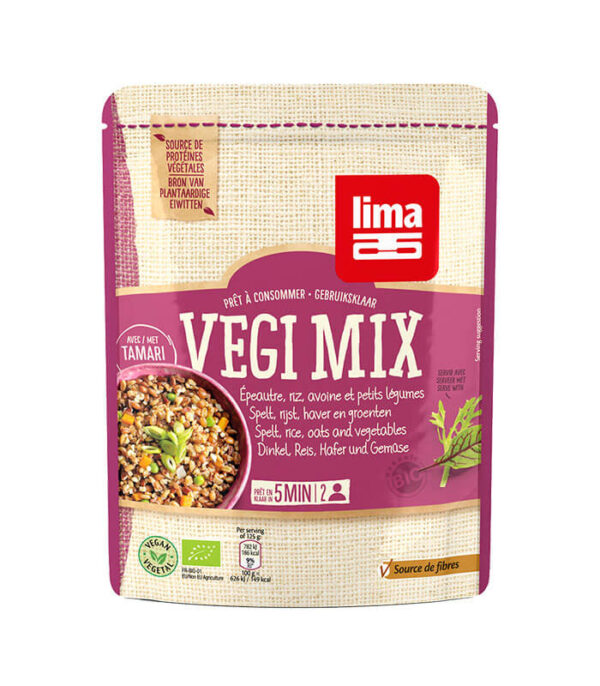 Bio Vegi Mix pira, riž, oves in zelenjava, 250g