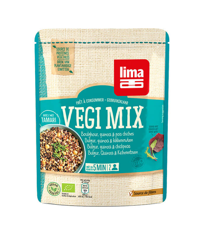Bio Vegi Mix bulgur, kvinoja in čičerika, 250g