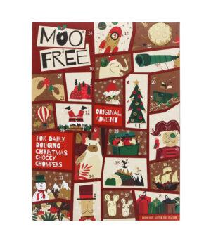 Moo Free Veganski adventni koledar s čokolado
