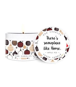 O.W.N. Candles Apple Pie potovalna sveča