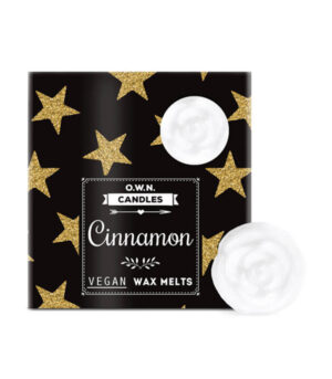 O.W.N. Candles Cimet dišeči voski v darilni škatlici