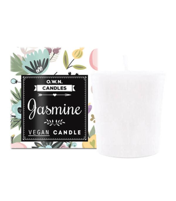 O.W.N. Candles Jasmin Votivna sveča