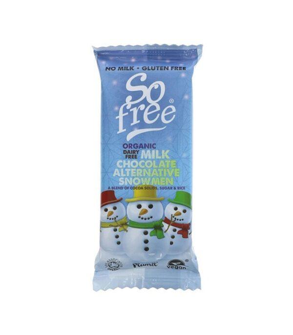 So Free veganska čokolada snežak