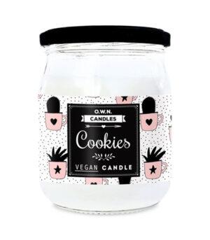 O.W.N. Candles Cookies velika dišeča sveča