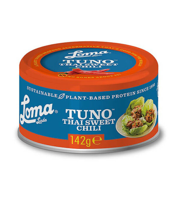 Loma Linda Tuno Thai Sweet Chilli - Veganska tuna s čilijem