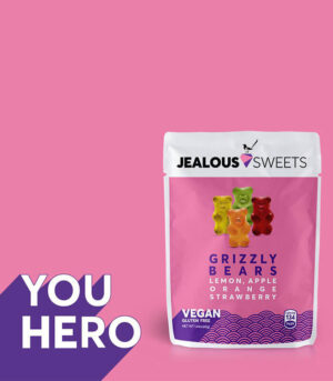 Veganski žele medvedki Jealous Sweets Grizzly Bears