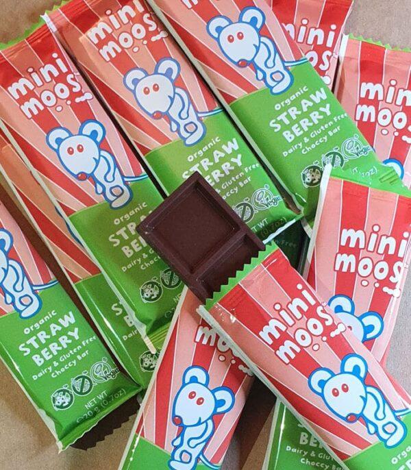 Bio Moo Free Čokoladica z jagodo