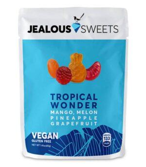 Tropsko sadje veganski žele bonboni