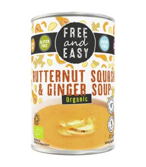 Bio bučna juha z ingverjem - Easy and Free