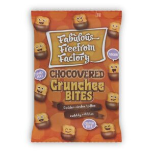 Hrustljava karamela v čokoladi
