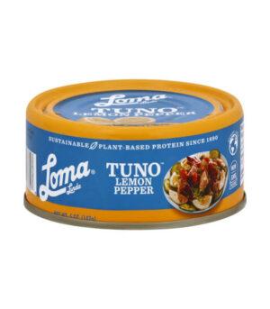 veganska tuna z limono in poprom