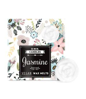 O.W.N. Candles Jasmin dišeči voski v darilni škatlici