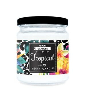 OWN Candles Tropical mala dišeča sveča