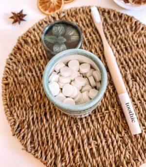 Toothie Mint zobna pasta v tabletkah