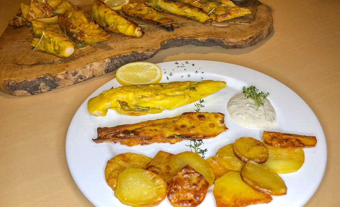 Recept za vegan fish and chips