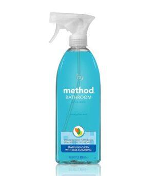 Method vegansko čistilo za kopalnico