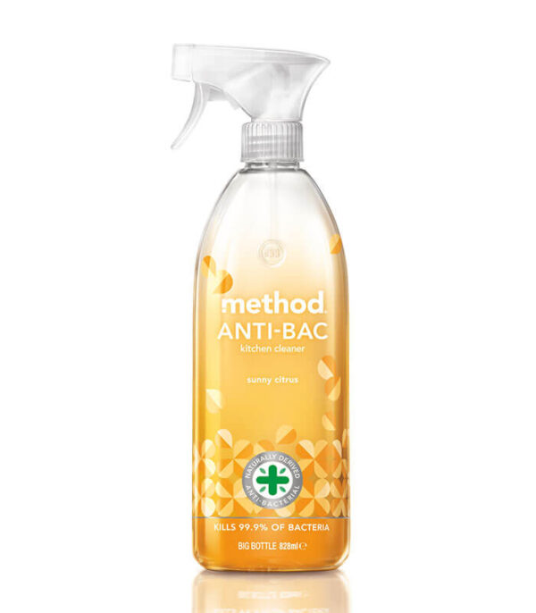 Method čistilo za kuhinje anti-bacterial citrusi, 828ml