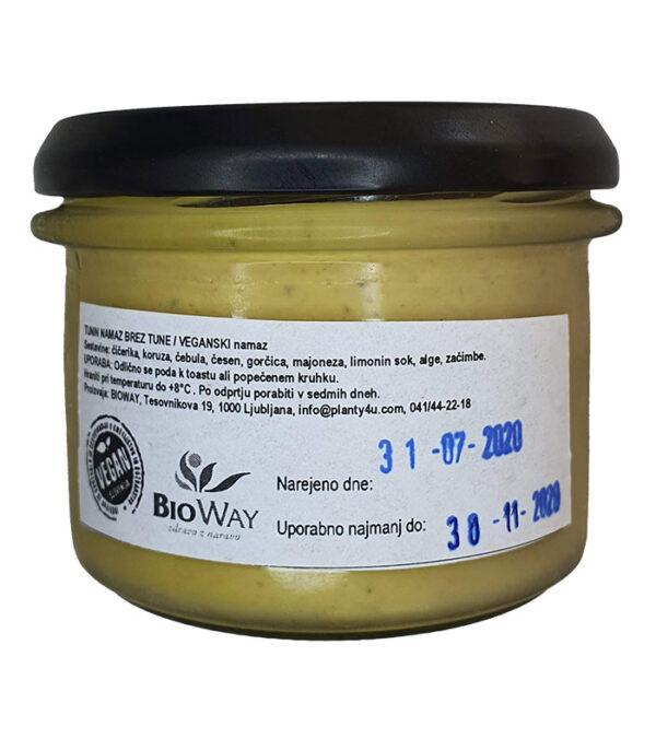 BioWay veganski tunin namaz brez tune